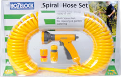 Image of Hozelock Spiral Hose Set 15m - 6800