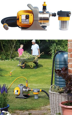 Hozelock garden pump kit 7819 garden4less uk shop for Gardening 4 less reviews
