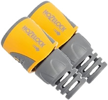 Image of Hozelock Hose End Connector Twin Pack