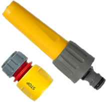 Image of Hozelock Hose Nozzle with Waterstop