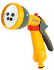 Image of Hozelock Multi Spray Gun With Waterstop Connector - 2676