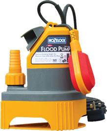 Image of Hozelock 2 in 1 Submersible  Flood Pump