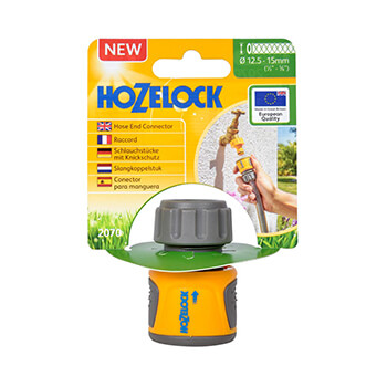 Image of Hozelock Soft Touch Hose End Connector - 2070
