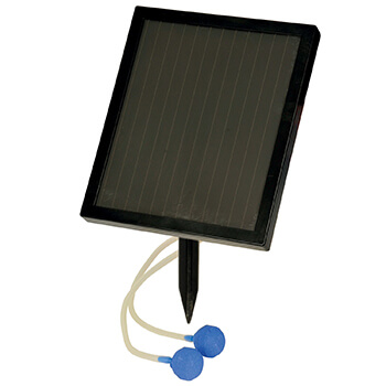 Image of Hozelock Solar Powered Air Pond Pump - 3537