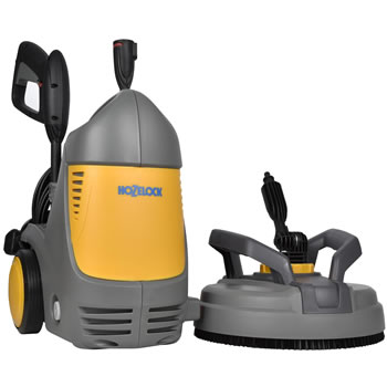 Image of Hozelock Pico Power 140 Bar Pressure Washer with Patio Cleaner