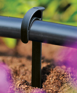 Image of Hozelock Micro Irrigation Supply Tube Stake - 2770