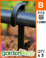 Hozelock Micro Irrigation Supply Tube Stake - 2770
