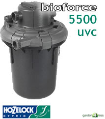 Hozelock Bioforce 5500 UVC Filter - 1384