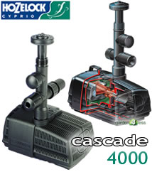 Image of Hozelock Cascade 4000 Pump (230v) - 3344