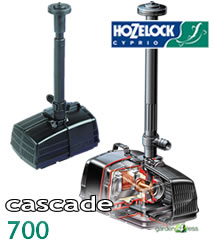 Image of Hozelock Cascade 700 Pump (230v) - 3352