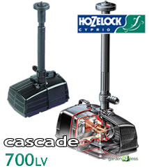 Image of Hozelock Cascade 700 LV Pump (Low Voltage) - 3072