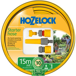 Small Image of Hozelock 15m Starter Hose and Fittings Set