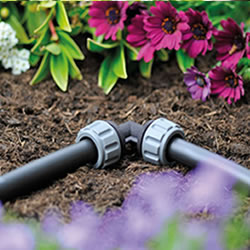 Small Image of Hozelock Micro Irrigation 13mm Elbow - Pack of 2