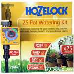 Hozelock 25 Pot Automatic Watering Kit with AC Plus Timer