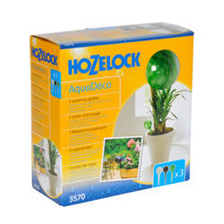 Small Image of Hozelock AquaDeco Watering Globe - Triple Pack