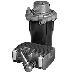 Small Image of New Hozelock Bioforce 4500 UVC Filtration System - 1401