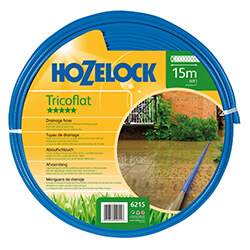 Small Image of Hozelock 15m Tricoflat Hose - 6215
