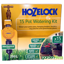 Small Image of Hozelock 15 Pot Watering Kit with Mechanical Timer