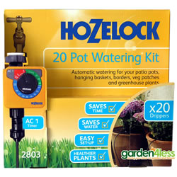 Small Image of Hozelock 20 Pot Automatic Watering Kit with AC1 Timer