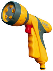 Image of Hozelock Multi Spray Ultra 9 Plus Spray Gun with Free Waterstop Connector