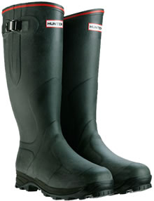 Image of Hunter Balmoral Royal Wellies Dark Olive - UK Size 14 / Euro 49