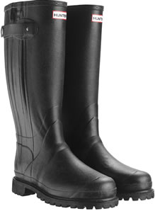 Image of Hunter Balmoral Sovereign Wellies - Black UK 14