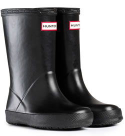 Image of Kids First Hunter Wellies - Black UK 12