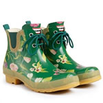 Small Image of RHS Original Hunter Pull On Wellies Green