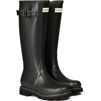 Image of Womens Hunter Field Balmoral Wellington Boots - Slate