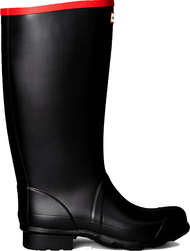 Extra image of Hunter Argyll Full Knee Wellington Boots UK 12