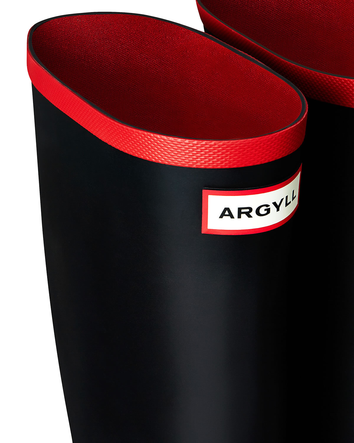 Extra image of Hunter Argyll Neoprene Wellington Boots