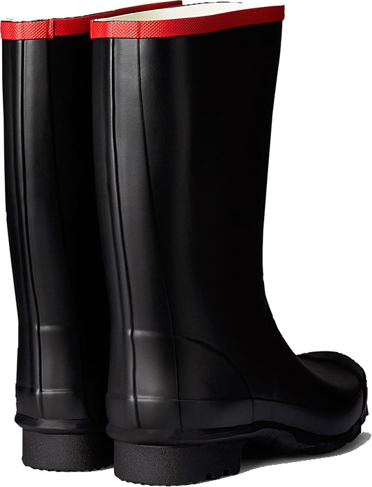 Extra image of Hunter Argyll Short Wellington Boots UK 12