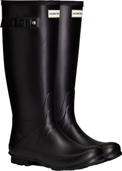 Image of Black Hunter Norris Field Neoprene - UK Size 4 / Euro 37