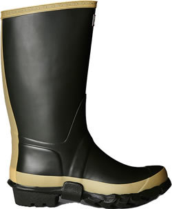 Extra image of Hunter Dark Olive Gardener Wellington Boots- UK Size 5 (Euro 38)