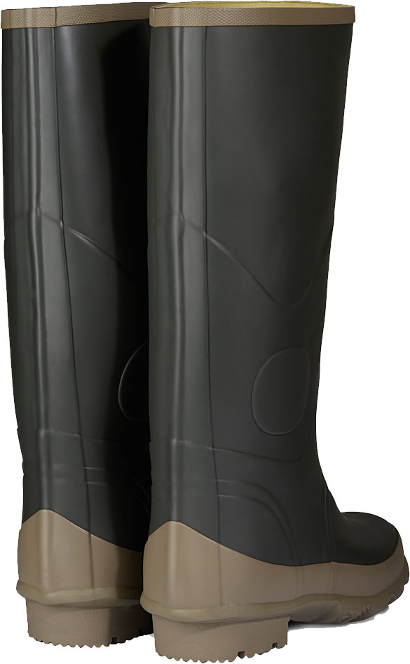 Extra image of Hunter Argyll Bullseye Wellington Boots Dark Olive UK 11