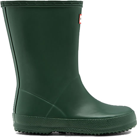Extra image of Kids First Hunter Wellies - Green UK 7