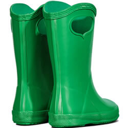 Extra image of Kids First Classic Pull-On Hunter Wellies in Element - UK 7