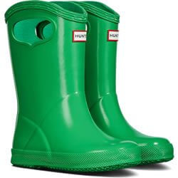 Small Image of Kids First Classic Pull-On Hunter Wellies in Element - UK 7