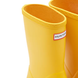 Extra image of Kids First Hunter Wellies - Yellow - UK Size 7