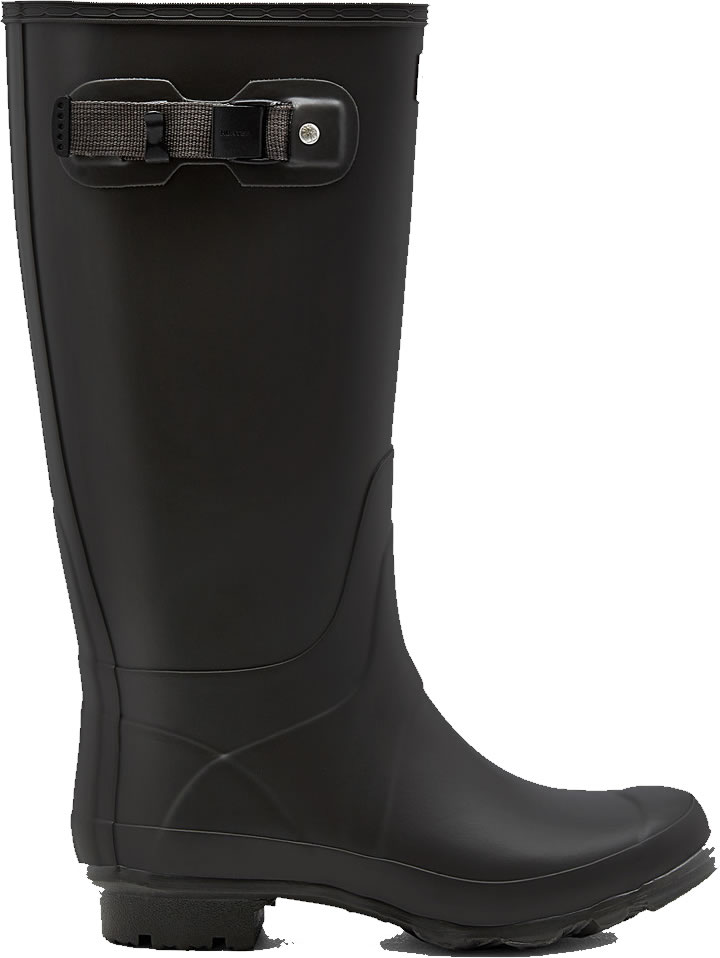 Extra image of Huntress Field Wide Calf Wellington Boots - Slate UK 4