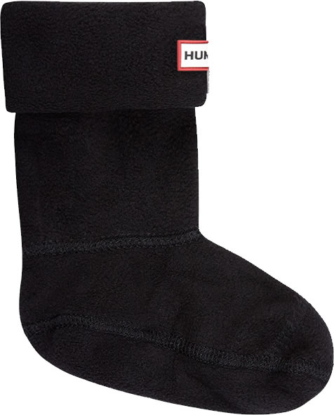 Extra image of Kids Hunter Welly Socks - Black