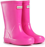 Kids First Hunter Wellies - Fuchsia