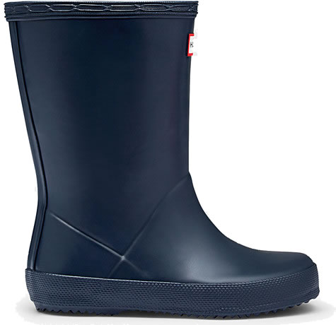 Extra image of Kids First Hunter Wellies - Navy UK 4