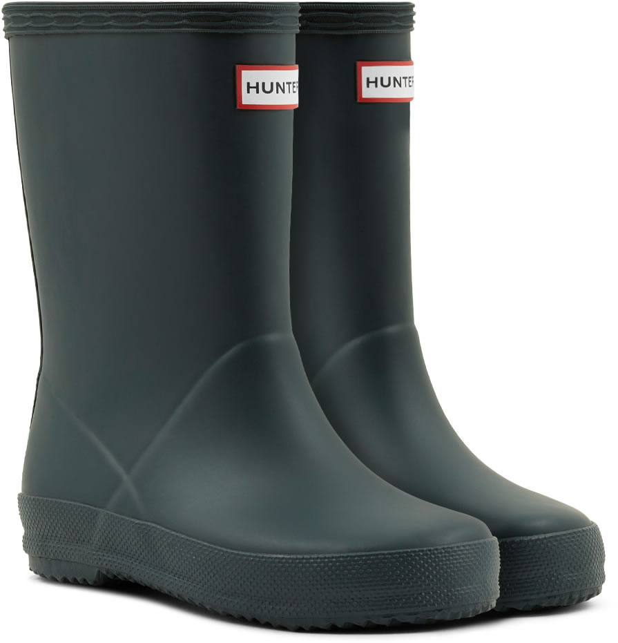 Small Image of Kids First Hunter Wellies - Ocean
