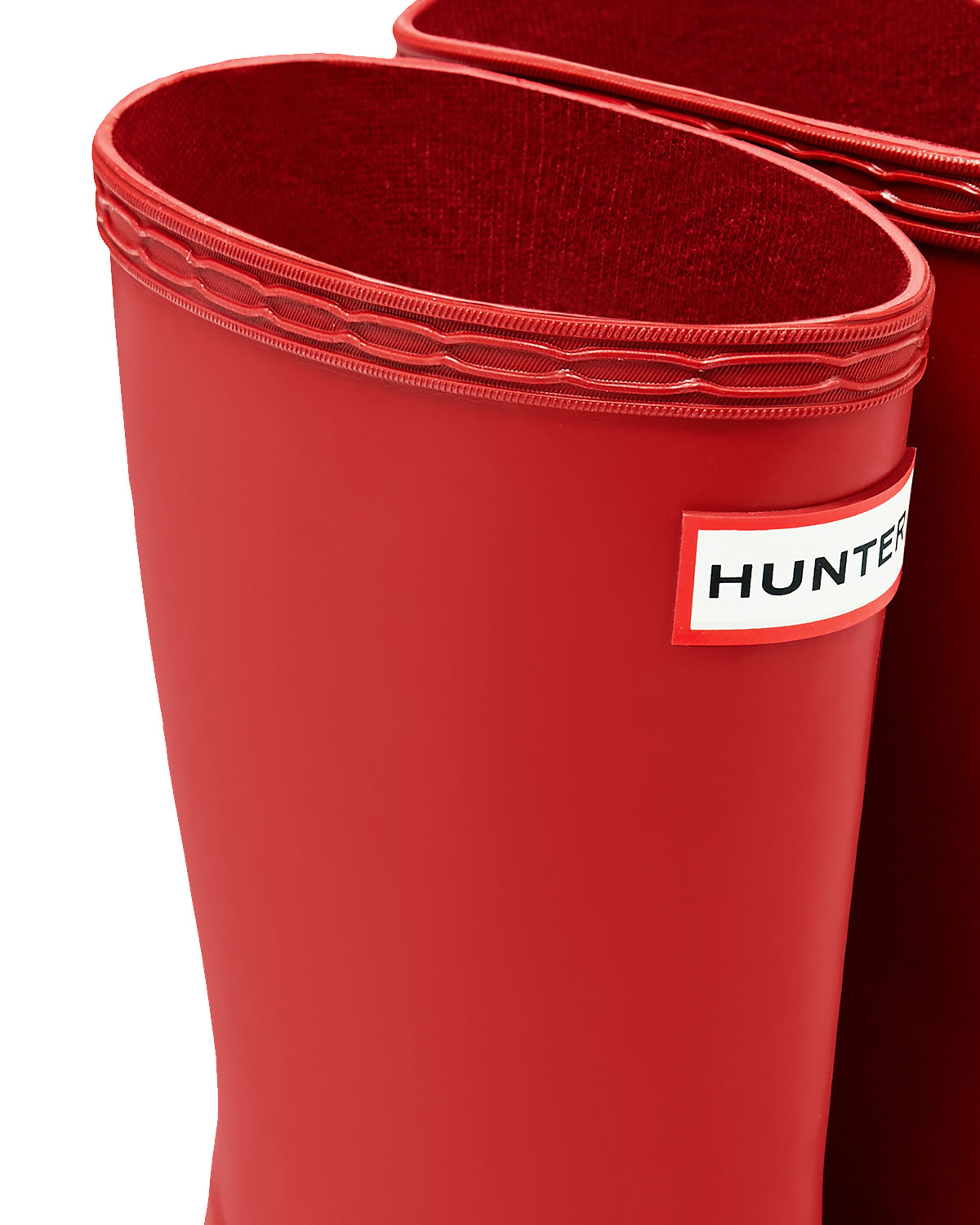 Extra image of Kids First Hunter Wellies - Military Red UK 8