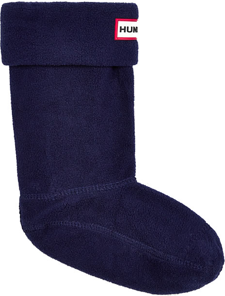 Extra image of Kids Hunter Welly Socks - Navy Large (UK 13-2)