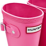 Extra image of Kids Fuchsia Hunter Wellies - UK Size 10