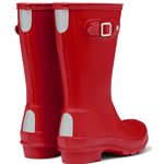 Extra image of Kids Red Hunter Wellies - UK Size 9