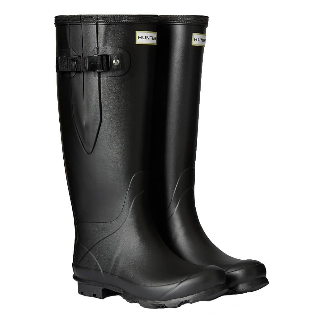 Norris Wide Fit Boots - Black - UK