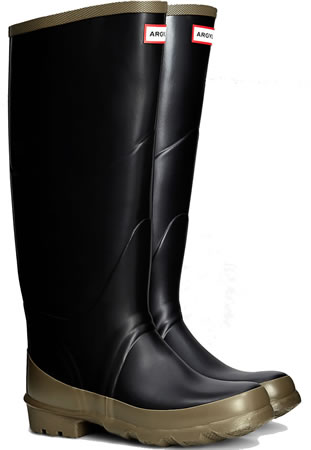 Image of Hunter Argyll Bullseye Wellington Boots - UK 6